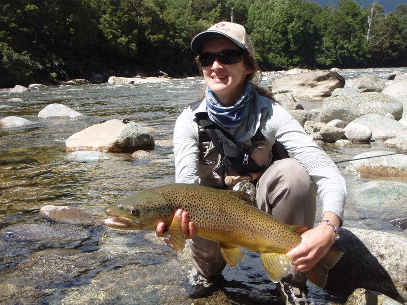 Enjoy a day trout fishing in New Zealand