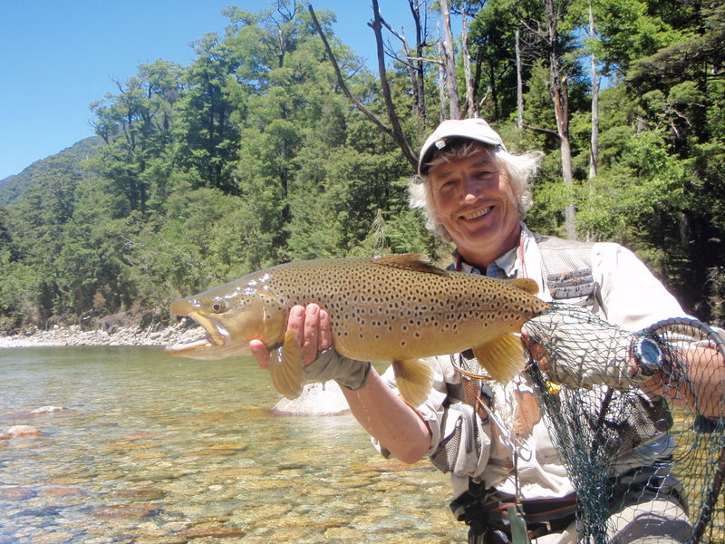 New Zealand catch and release trout fishing
