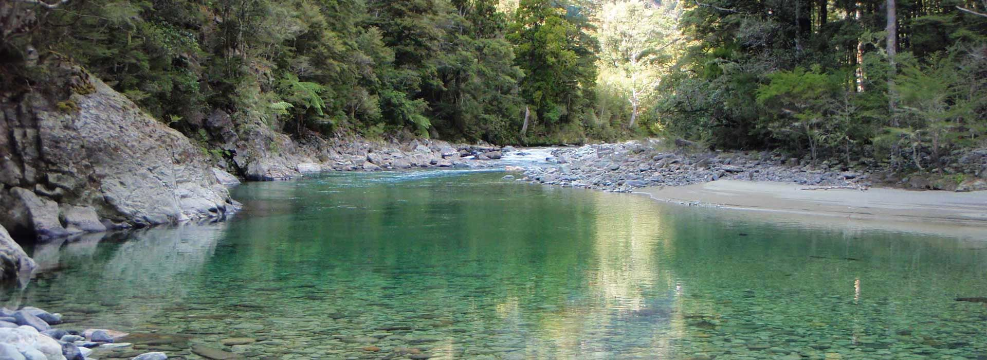 Fly fishing in Nelson and Tasman at the top of New Zealand's South Island