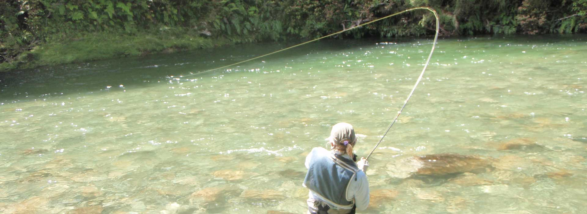 Trout fishing guide for the top of New Zealand's South Island